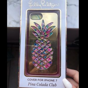 Lilly Pulitzer case iPhone 7 NEW
